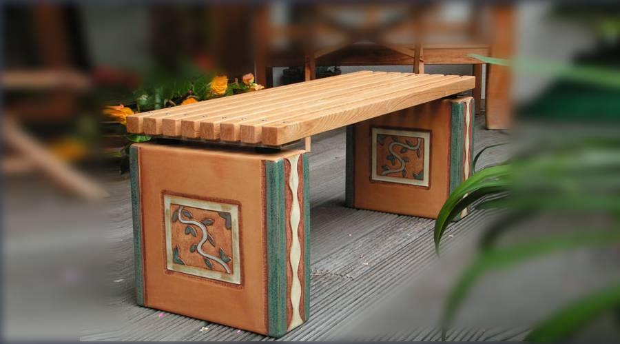 Kunsthandwerk Keramikbank